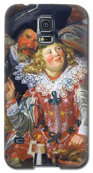 Shrovetide Revellers The Merry Company Galaxy S5 Case