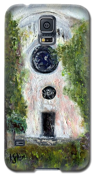 Galaxy S5 Case featuring the painting Shul At 306 by Aleezah Selinger