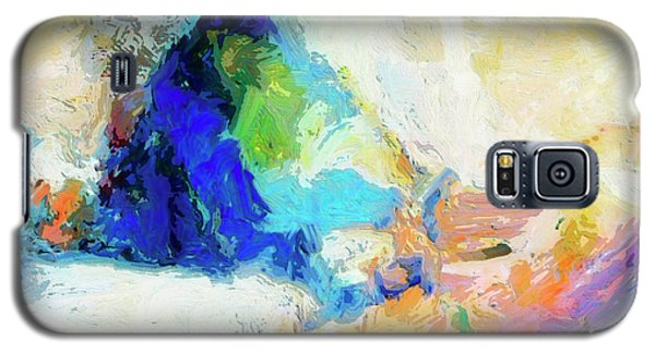 Galaxy S5 Case featuring the painting Shuttle by Dominic Piperata