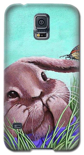 Shy Bunny - Original Painting Galaxy S5 Case