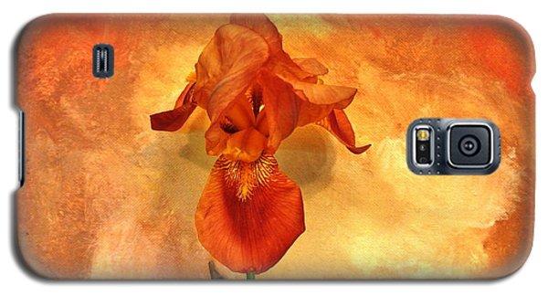 Shy Iris Galaxy S5 Case by Marsha Heiken