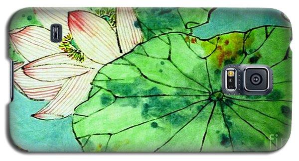 Shy Lotus Galaxy S5 Case