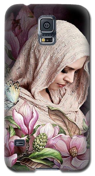 Magnolia Galaxy S5 Case - Shy Magnolia 02 by G Berry