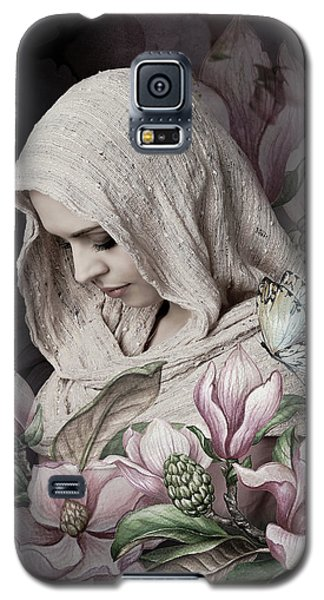 Magnolia Galaxy S5 Case - Shy Magnolia by G Berry