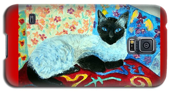 Siamese Cat Galaxy S5 Case