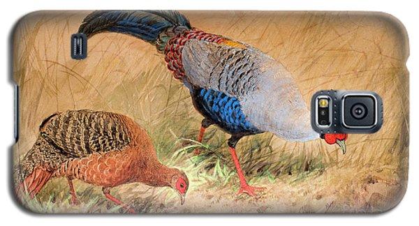 Siamese Pheasant  Galaxy S5 Case