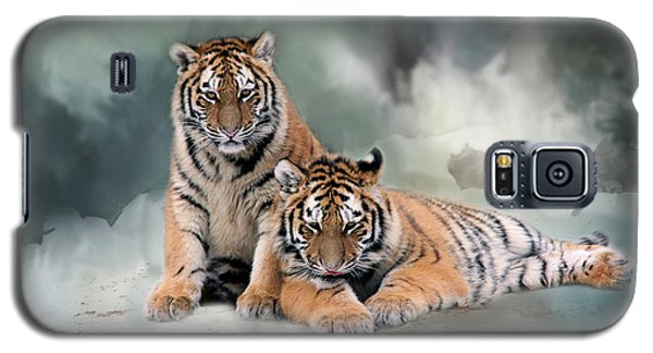 Siberian Twins Galaxy S5 Case by Inge Riis McDonald