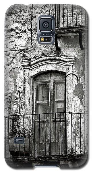 Sicilian Medieval Facade Galaxy S5 Case