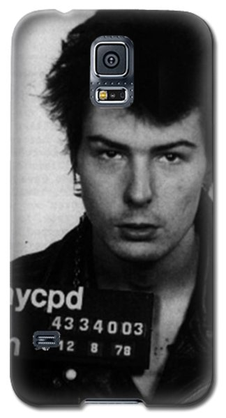 Sid Vicious Mug Shot Vertical Galaxy S5 Case