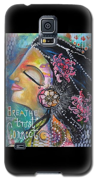 Side Face With Words Galaxy S5 Case
