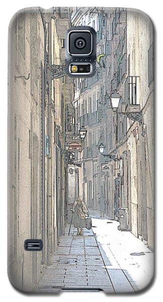 Side Street Galaxy S5 Case by Victoria Harrington
