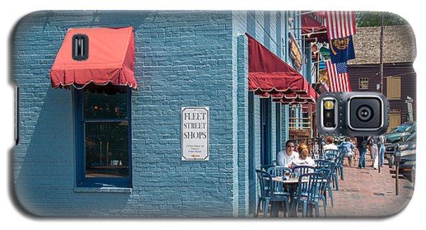 Sidewalk Cafe Annapolis Galaxy S5 Case