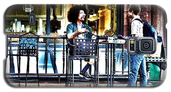048 - Sidewalk Cafe Galaxy S5 Case