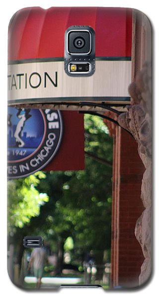 Sidewalk View Jazz Station  Galaxy S5 Case