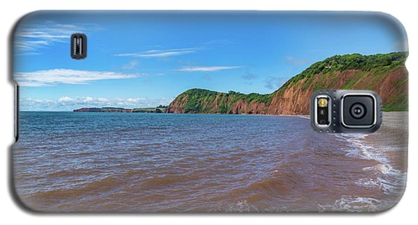 Galaxy S5 Case featuring the photograph Sidmouth Jurassic Coast by Scott Carruthers