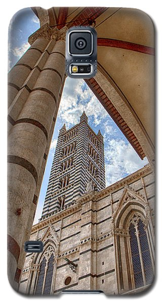 Siena Cathedral Tower Framed By Arch Galaxy S5 Case