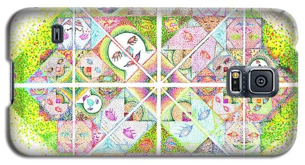 Sierpinski's Baseball Diamond Galaxy S5 Case