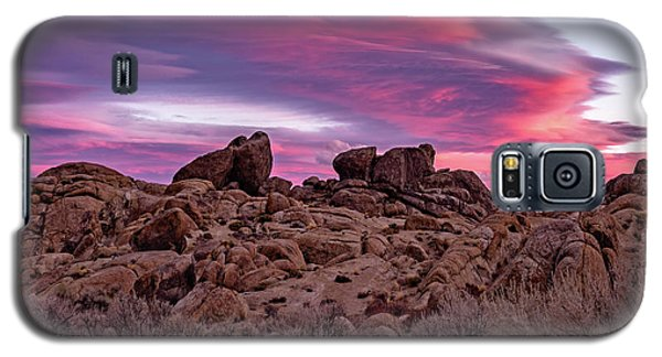 Sierra Clouds At Sunset Galaxy S5 Case