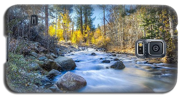 Sierra Mountain Stream Galaxy S5 Case