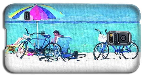 Siesta Key Beach Bikes Galaxy S5 Case