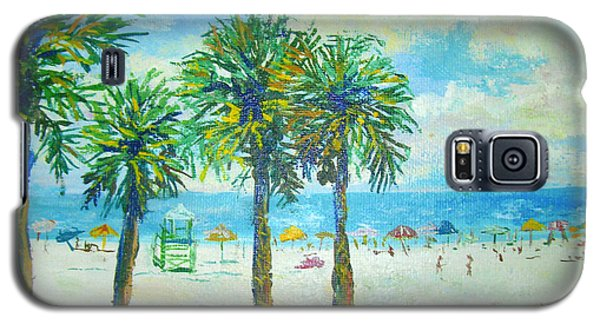 Siesta Key Beach Galaxy S5 Case by Lou Ann Bagnall
