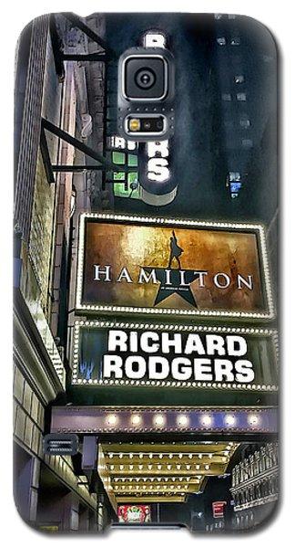 Sights In New York City - Hamilton Marquis Galaxy S5 Case by Walt Foegelle