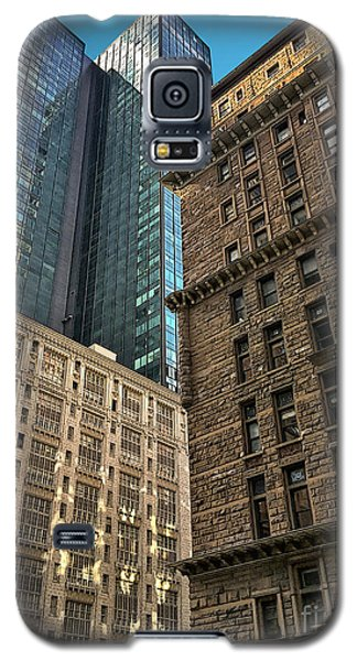 Galaxy S5 Case featuring the photograph Sights In New York City - Old And New 2 by Walt Foegelle