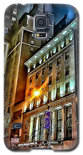 Galaxy S5 Case featuring the photograph Sights In New York City - Scientology by Walt Foegelle