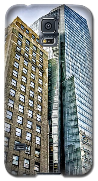 Galaxy S5 Case featuring the photograph Sights In New York City - Skyscrapers by Walt Foegelle
