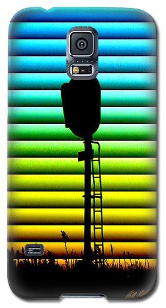 Signal At Dusk Galaxy S5 Case by Bill Kesler