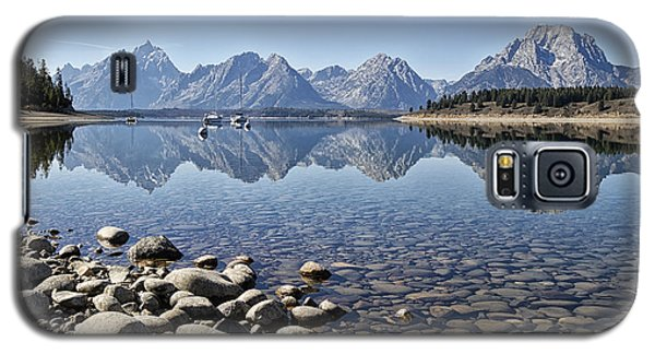 Jackson Lake  Near Signal Mountain Lodge Galaxy S5 Case