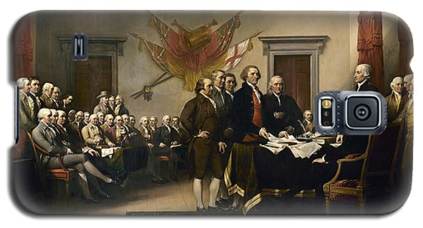 Signing The Declaration Of Independence Galaxy S5 Case by War Is Hell Store