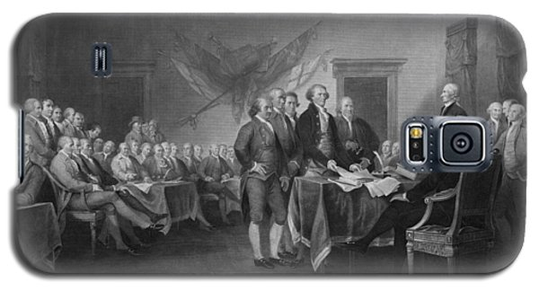 Signing The Declaration Of Independence Galaxy S5 Case