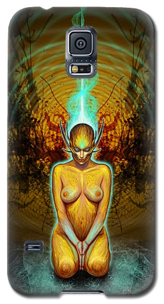 Silence Is Golden Galaxy S5 Case