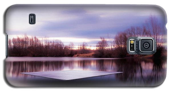 Galaxy S5 Case featuring the photograph Silence Lake  by Franziskus Pfleghart