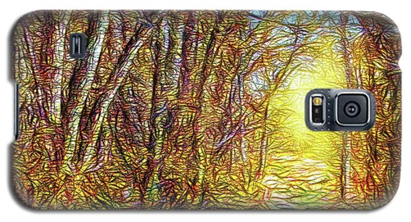 Silence Of A Forest Path Galaxy S5 Case