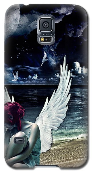 Silence Of An Angel Galaxy S5 Case by Mo T