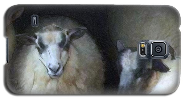 Silence Of The Sheep Galaxy S5 Case