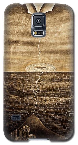 Silent Echo Beige Galaxy S5 Case