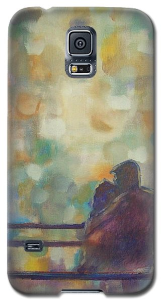 Galaxy S5 Case featuring the painting Silent Night by Raymond Doward