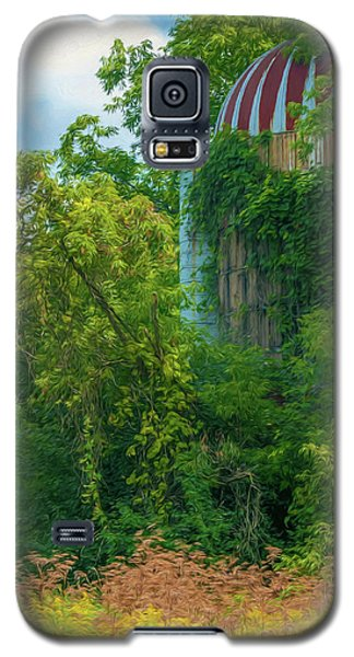Silent Silo On Nottleson Road Galaxy S5 Case by Trey Foerster