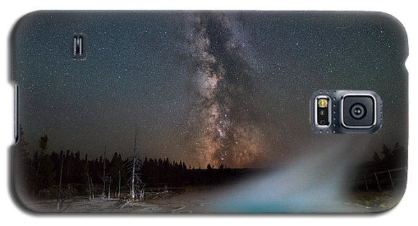 Silex Spring Milky Way  Galaxy S5 Case