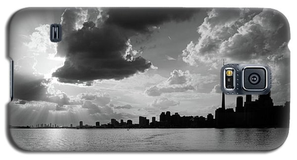 Silhouette Cn Tower Galaxy S5 Case by Nick Mares