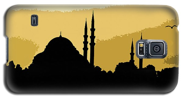 Silhouette Of Mosques In Istanbul Galaxy S5 Case