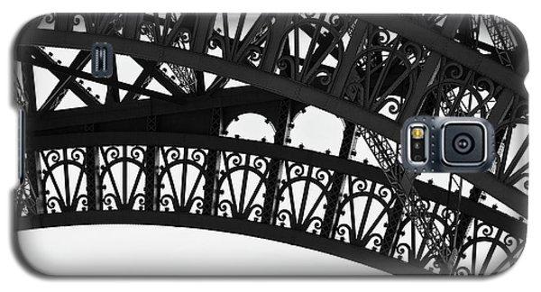 Silhouette - Paris, France Galaxy S5 Case by Melanie Alexandra Price