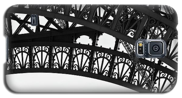 Silhouette - Paris, France Galaxy S5 Case