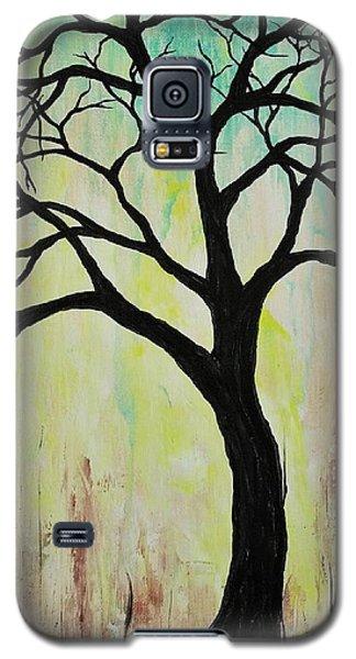Silhouette Tree 2018 Galaxy S5 Case