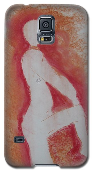 Silhouetted Figure Galaxy S5 Case