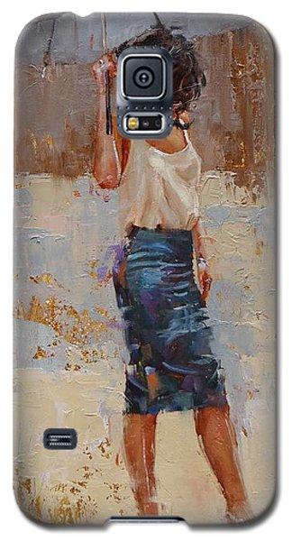 Silk Galaxy S5 Case by Laura Lee Zanghetti