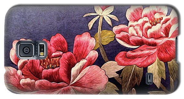 Silk Peonies - Kimono Series Galaxy S5 Case